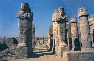 Karnak, the great temple of the god Amun-Re in Thebes, Egypt
